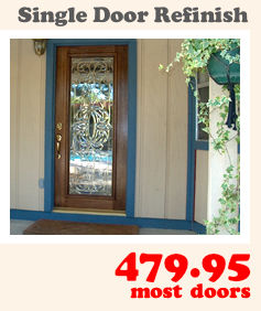 Charmant A Single Door Refinish